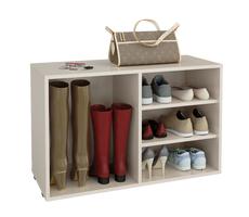 Открытые полки для обуви
